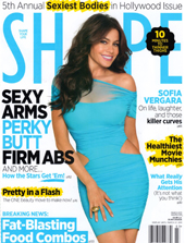 Greylin Shape Magazine March 2011 COVER