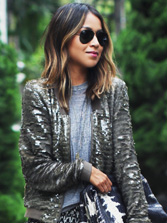 sincerely jules alaia sequin bomber jacket cover