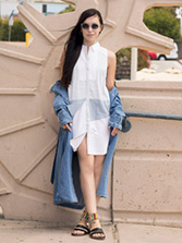 its super fashion shirtdress cover
